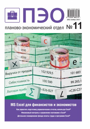 Электронное издание Планово-экономический отдел